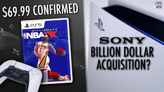 PS5 Games Will Cost More? Sony Seeking $1.23 Billion Acquisition of FIVE Developers. - [LTPS #420]