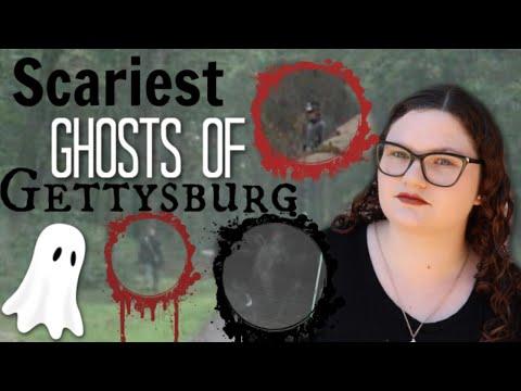 TOP 5 CIVIL WAR GHOSTS CAUGHT ON CAMERA - Battle of Gettysburg Evidence ♡ Sophia Lovelace Paranormal |
