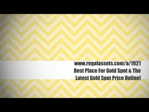 Live Spot Gold Price - Best Place To Buy Gold and Spot Silver (See Description)