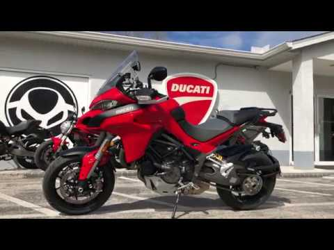 2018 ducati multistrada 1260 s red at euro cycles of tampa. Black Bedroom Furniture Sets. Home Design Ideas