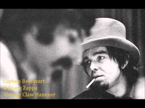 beefheart & zappa 'orange claw hammer'