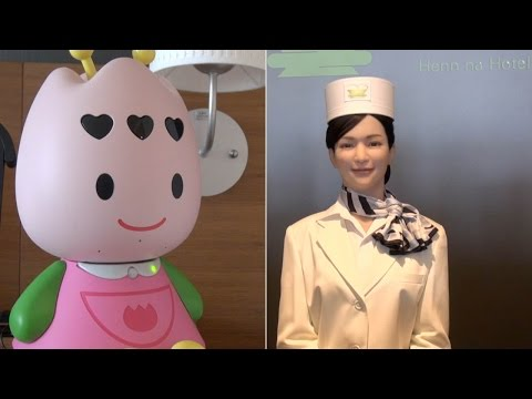 Henn na Hotel — the Huis Ten Bosch hotel where robots are at your service
