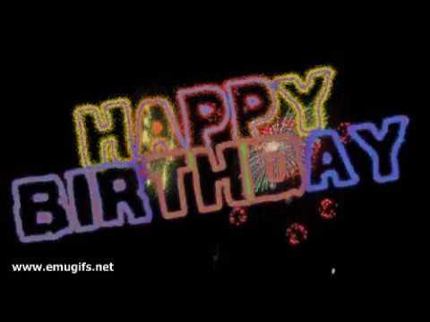 Gif Auguri Di Buon Compleanno Gratis Per Whatsapp Youtube