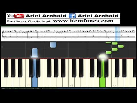 Ven Espiritu Ven - Marcos Barrientos - Descargar Partitura Gratis - Tutorial Synthesia Piano