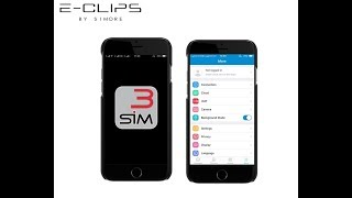 E Clips - What is in the App and what are the different options ? SIMore E-Clips