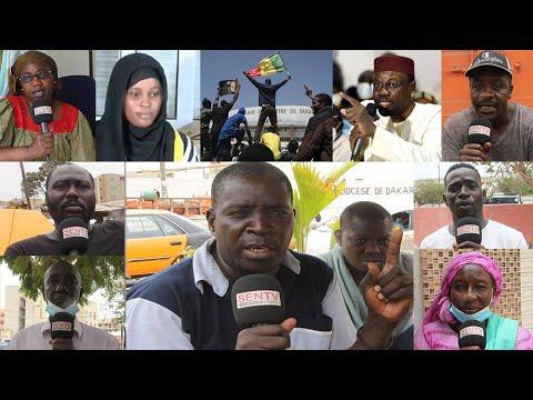 Adji Sarr et Ousmane Sonko - affaire v10l ou c0mpl0t : Les sénégalais réclament la justice