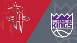 Houston Rockets vs Sacramento Kings live stream   nba live   play by play reaction