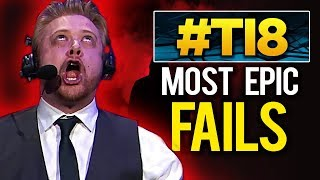The BEST fails and FUNNIEST Moments of The International 2018 – Day 1 & Day 2 – Dota 2 #TI8