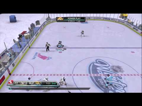 NHL 2K10 - Winter Classic at Ralph Wilson Stadium Period 2