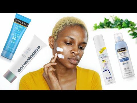 Best Sunscreen For Dark Skin & Oily Skin - No White Cast