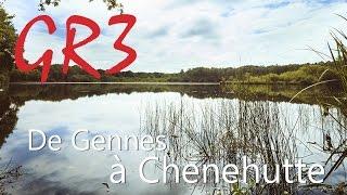 GR3 de Gennes à Chênehutte