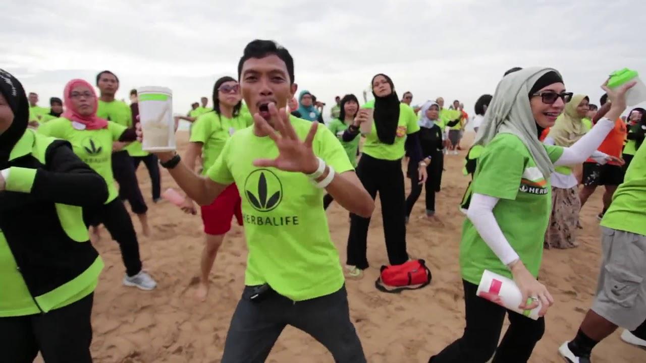 SENAM Shake Herbalife Indonesia 2012