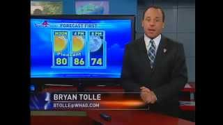 WHAG News You Can Use 9:00 AM Sunday Newscast Forecast First & Top Stories - 12 August 2012