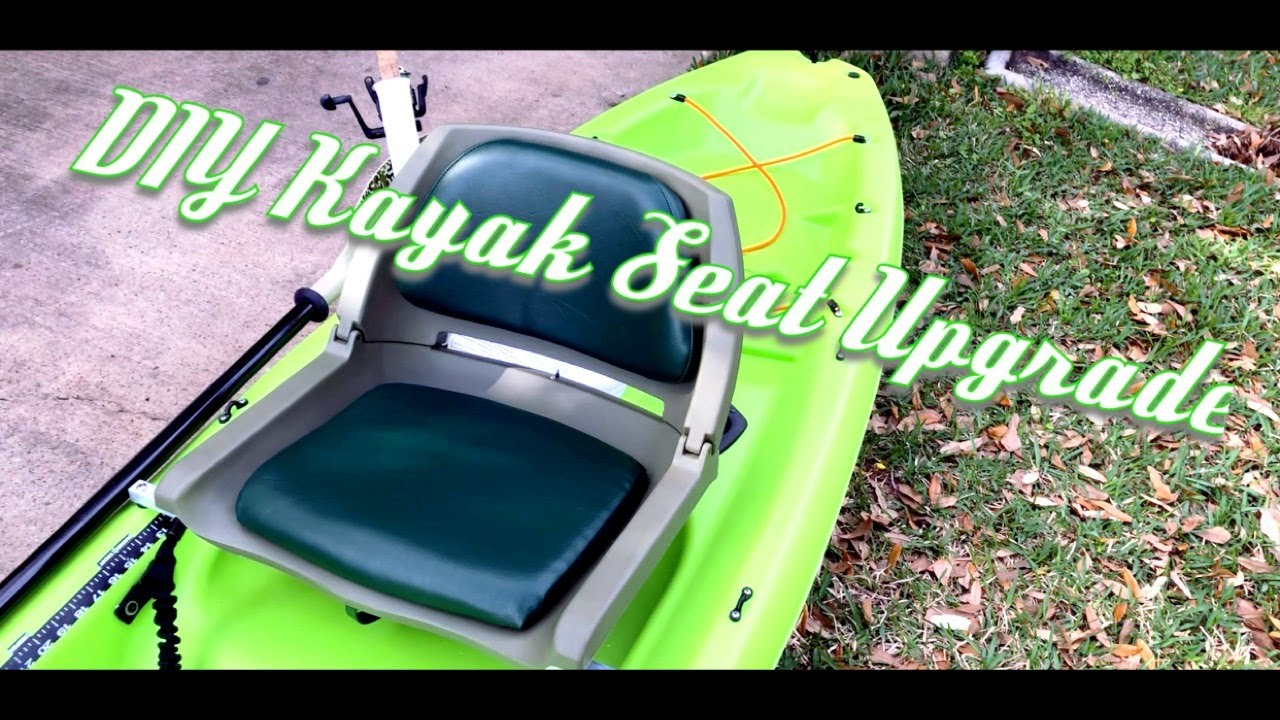 Kayak Seat UPGRADE DIY, Pelican Bandit 100 Cheap Kayak