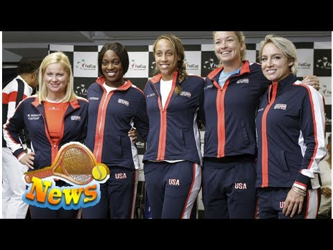 A loaded u.s. team faces france for spot in fed cup final this weekend