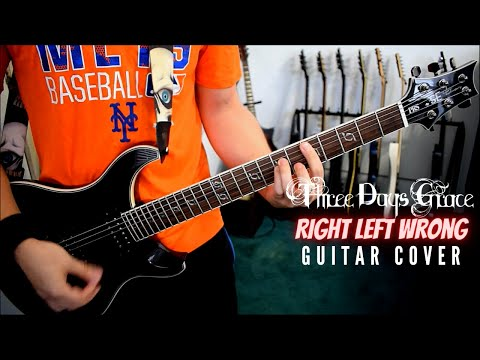 Three Days Grace - Right Left Wrong (Guitar Cover)