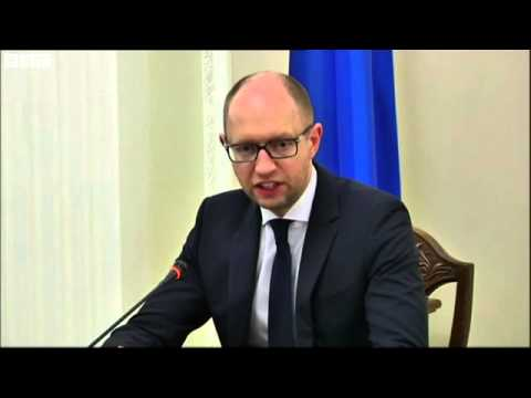 MH17 Crash: Ukraine PM's Anger Over 'International Crime' - 18/07/2014