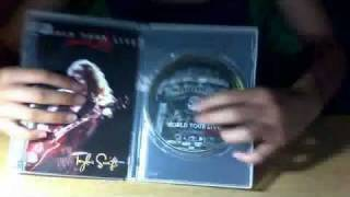 Unboxing of Taylor Swift World Tour Live: Speak Now