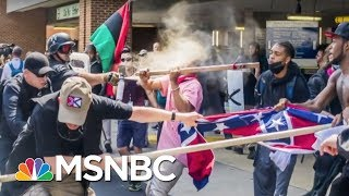 White Nationalists Say They Are Police Victims | Morning Joe | MSNBC