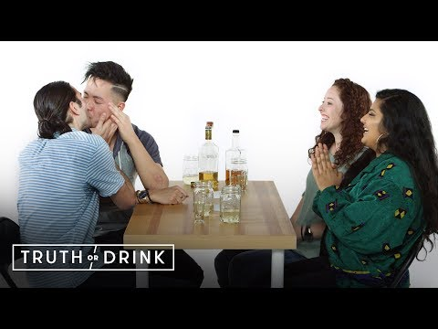 Double Blind Date (Joe, Kwan, Brianna, & Aretha)| Truth Or Drink | Cut