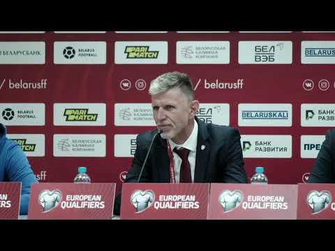 ČR A | Tisková konference #ceskarepre po utkání s Běloruskem