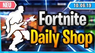 *NEW* EMOTE & FOUR 2000skinS IN SHOP - Fortnite Daily Shop (10 June 2019)