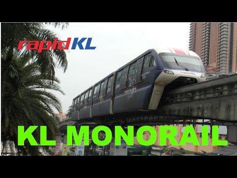 Kuala Lumpur monorail travel review