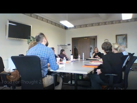 Food For Thought: Transitions in the School System 2.28.18