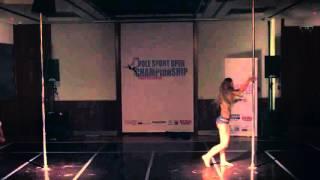 Pole Dance- Nevena Ilena Savić (Pole Sport Open Championship Serbia 2015)