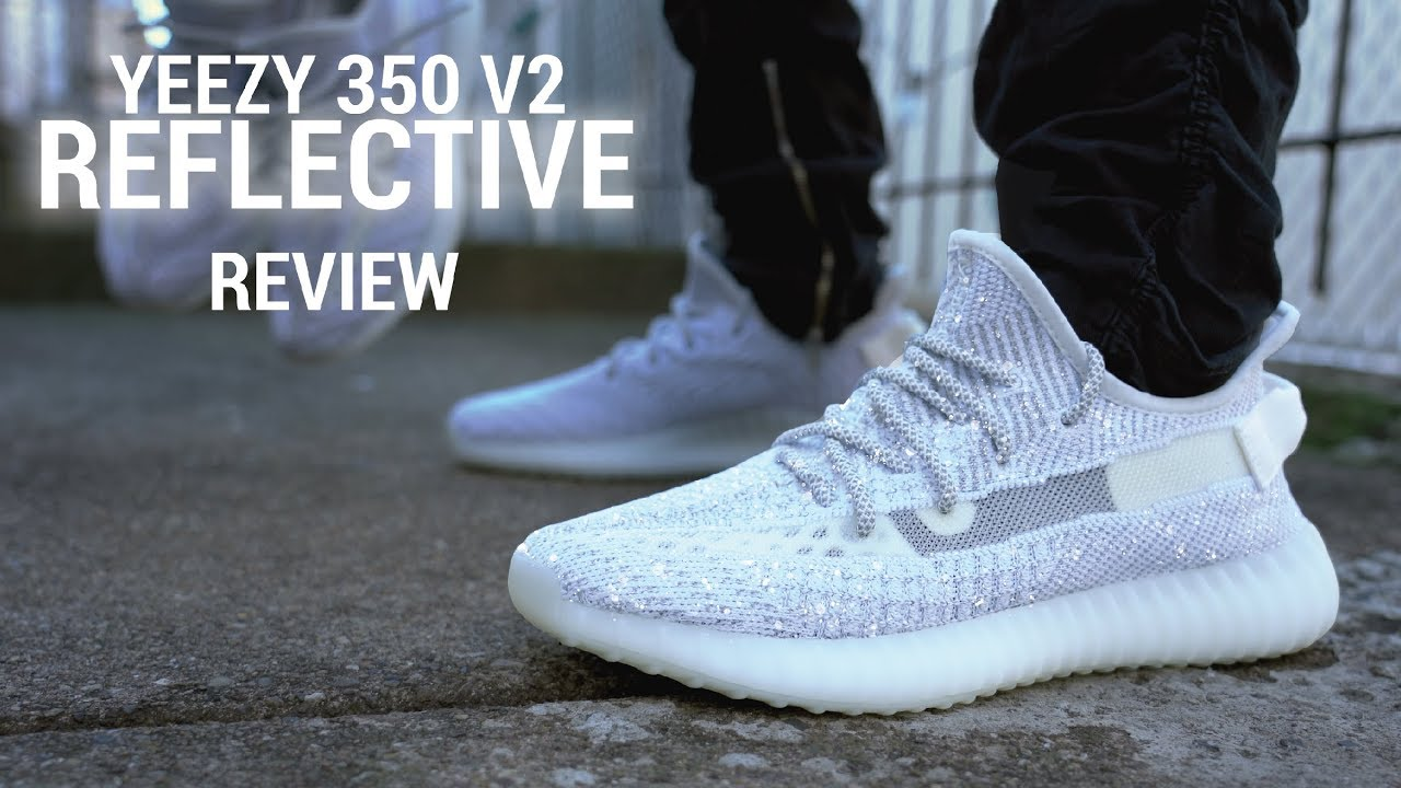 2fdde19c Yeezy Boost 350 V2 Static Reflective Review & Non Reflective ...