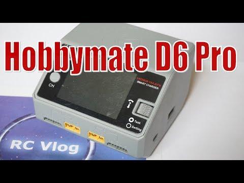 Hobbymate D6 Pro. Мощное, компактное, двухпортовое универсальное зарядное устройство.