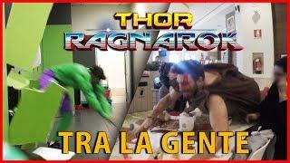 Distruggere un Bagno Vestiti da Hulk - Thor Ragnarok tra la Gente [Candid Camera] - theShow