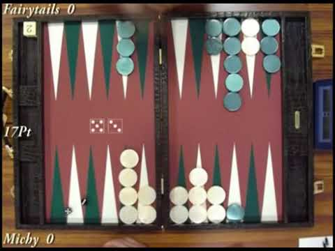 Sapporo Open 2006 Final   scene 2   Backgammon