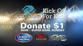 WEAU B&GC Kick Off For Kids!