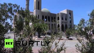 State of Palestine: Gazan buildings ravaged by Israeli attacks