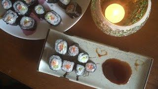 Домашняя кухня-Как приготовить суши!