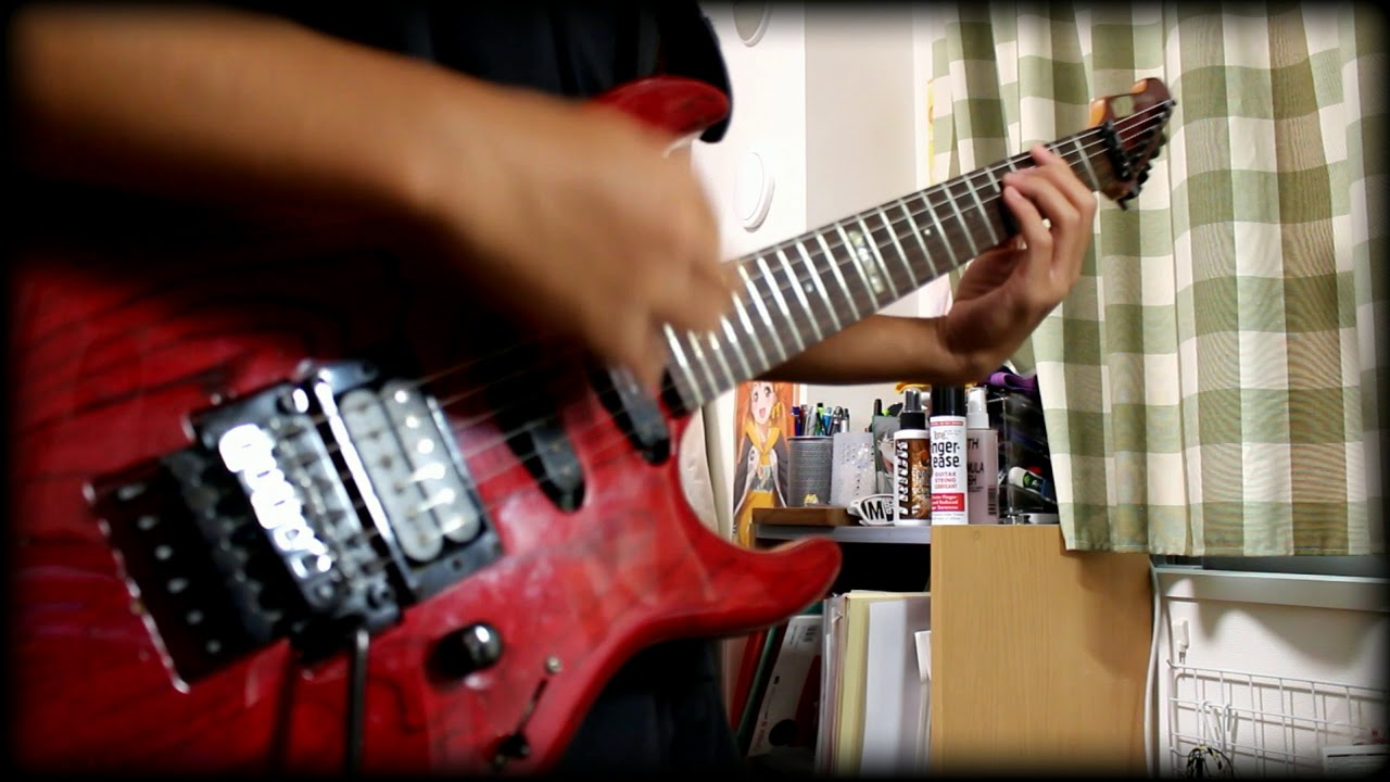 bang-dream-afterglow-hey-day-kuang-sao-qu-kapurichio-guitar-cover-pe-ne