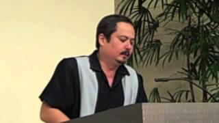 Chris McKinney at the University of Hawaii, Hilo. Tuesday November 13, 2012
