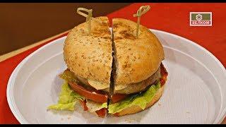 Бургер с Колбасками для жарки по-Баварски