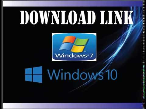 Download link windows 10 and windows 7  google drive link