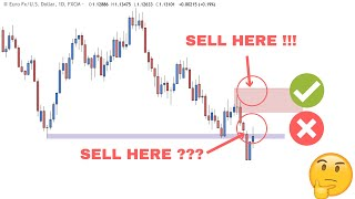Forex Technical Analysis - Where Is The Best Place To Sell The EURUSD?
