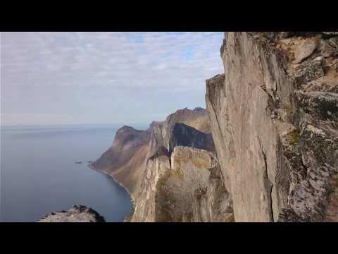 On Top of Segla Mountain, Senja Island Norway