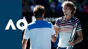 Stan Wawrinka vs Alexander Zverev - Extended Highlights (QF) | Australian Open 2020