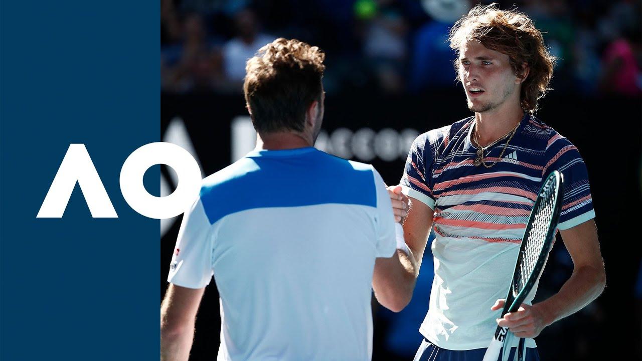 Stan Wawrinka vs Alexander Zverev - Extended Highlights (QF)   Australian Open 2020