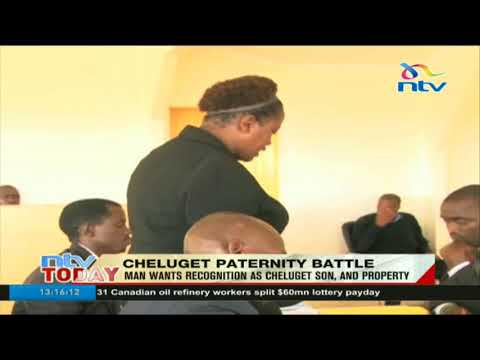 Man wants recognition as son of former powerful Nyanza provincial commissioner Isaiah Cheluget