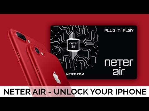 Neter Air Unlocking Sim - How to Unlock any iPhone