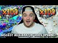 INSANE 100 NEW ACCELERATOR ROCKET LEAGUE CRATE OPENING PAINTED EXOTICS MORE mp3