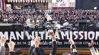 Gambar cover MAN WITH A MISSION 「The World's On Fire」 Special Free Live in Dotonbori River, Osaka