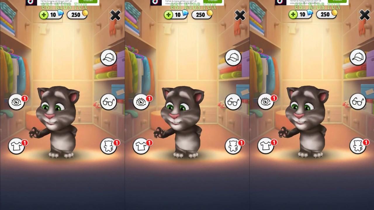 My Talking Tom Gameplay – Chăm Sóc Mèo Tôm Biết Nói – Mèo Tom Vui Nhộn – Giúp Bé Ăn Ngon Miệng