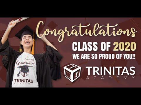 Trinitas Academy Senior Graduation Class of 2020